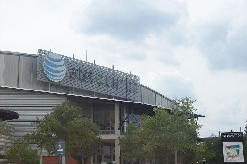 AT&T Center: Home of the San Antonio Spurs