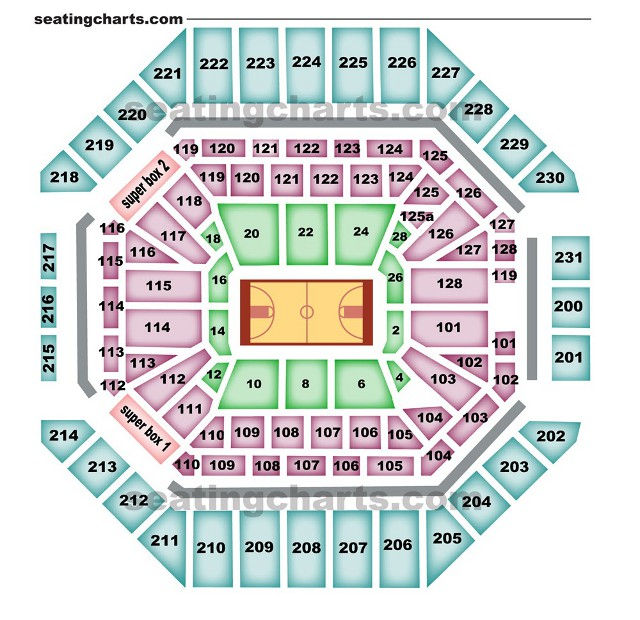 San antonio spurs seating chart spursseatingchart com